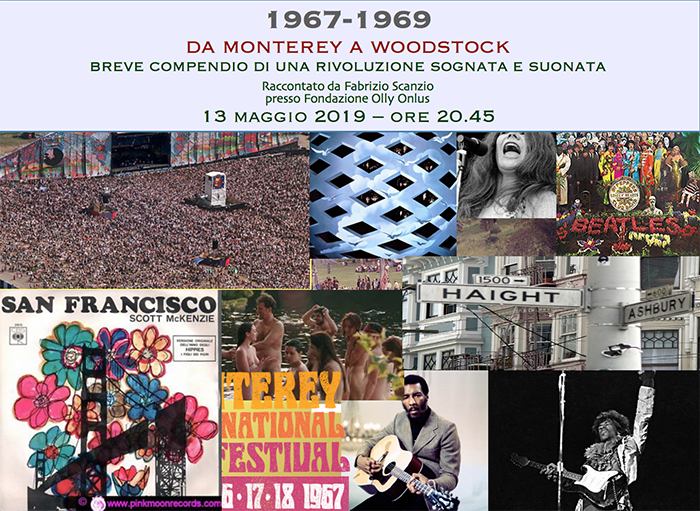 From Monterey to Woodstock 13/05/19