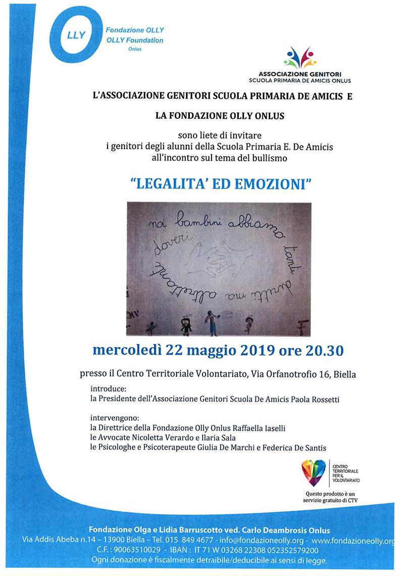 Legalità ed Emozioni 22/05/19